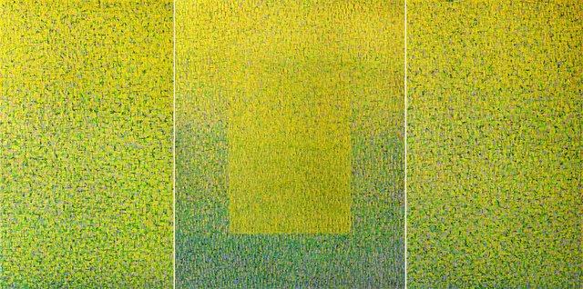 Hyun Ae Kang, 'Spirit of Spring Trilogy', 2021, Painting, Oil and resin on canvas, BOCCARA ART