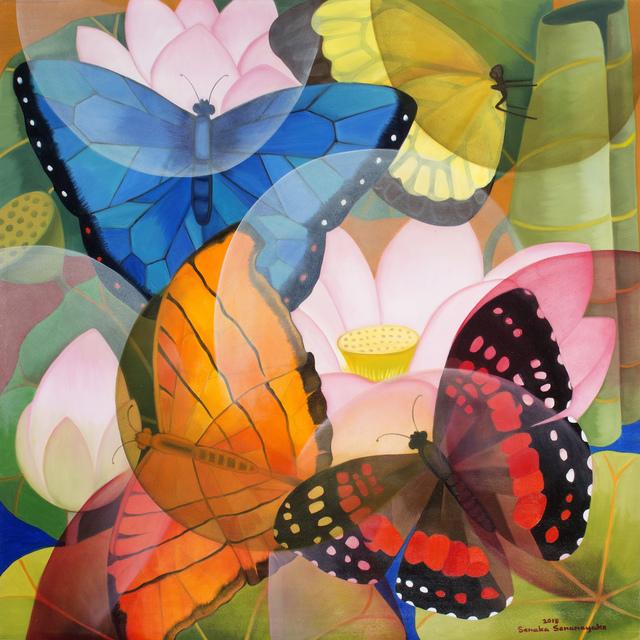 , 'Lotus Butterflies,' 2018, Grosvenor Gallery