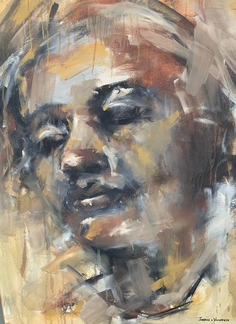 Johan van Vuuren, 'Head Study Brown', 2017, Axis Art Gallery
