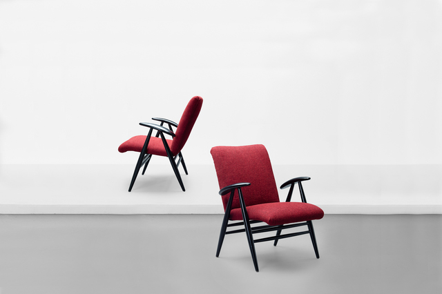 """, 'Pair of lounge chairs, model """"nº 2468"""",' 1959, Side Gallery"""