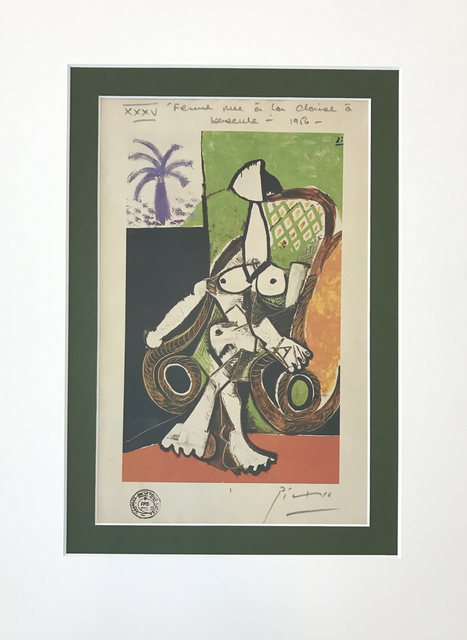 , 'Femme nue dans le fauteuil e bascule,' 1956, Tranter-Sinni Gallery
