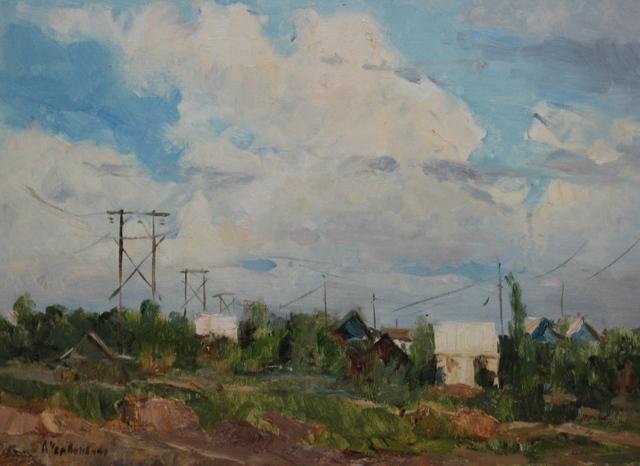 Aleksandr Nikiforovich Chervonenko, 'Landscape', 1980, Surikov Foundation