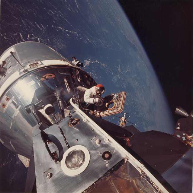 , 'Apollo 9 EVA,' 6 March 1969, Repetto Gallery