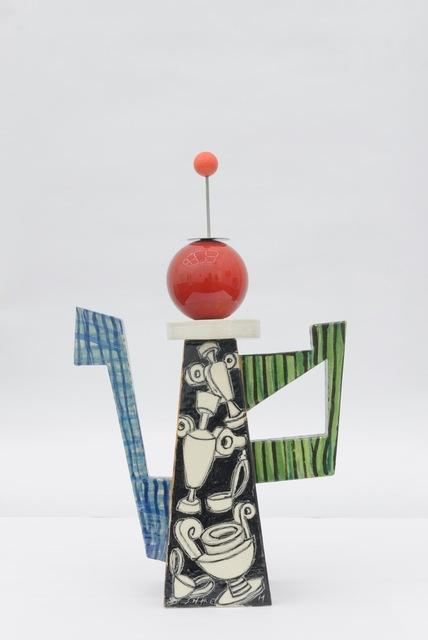 , 'Peter Shire Milk Carton with Tin Man ,' 2014, Office Baroque