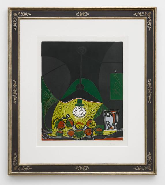 Pablo Picasso, 'Nature Morte sous la Lampe', 1962, Cristea Roberts Gallery