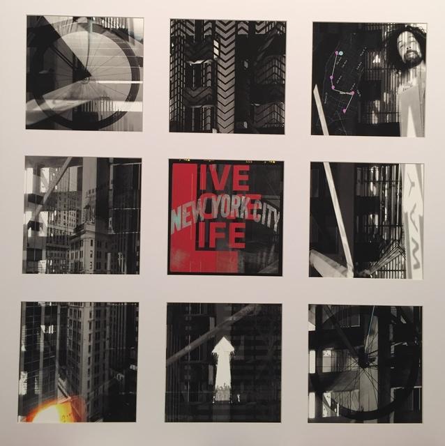 , 'Live love Life NYC,' 2017, Faur Zsofi Gallery