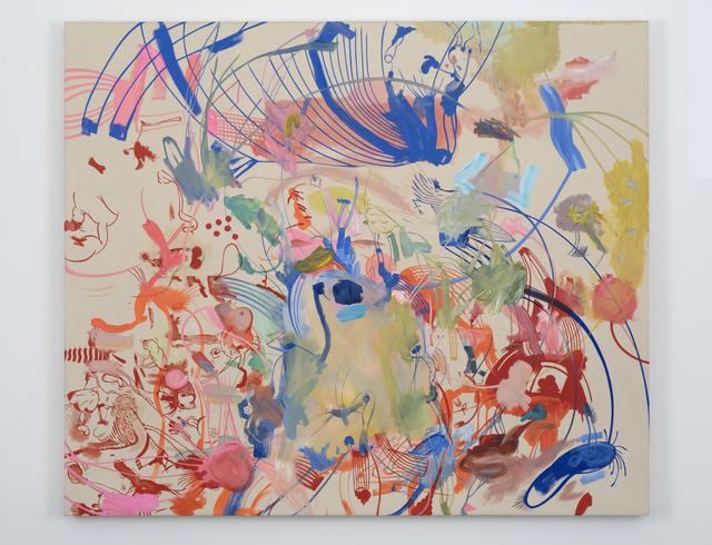 , 'Lines Going Up #2,' 2015, Galerie Eva Presenhuber