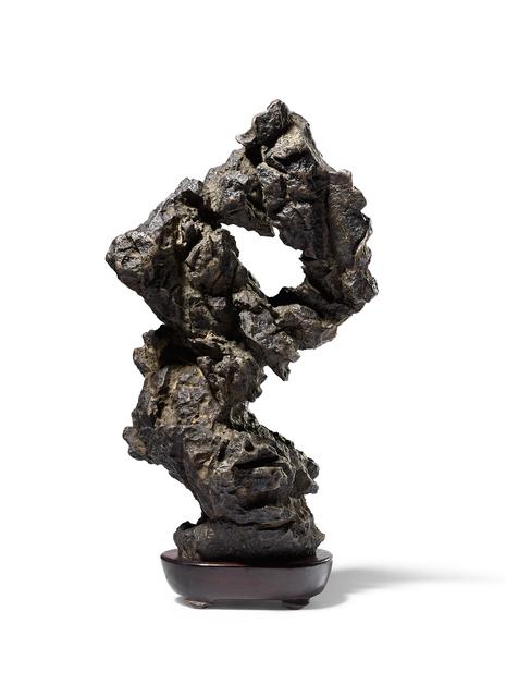 , 'A VERTICAL YING SCHOLAR'S ROCK,' , Maria Kiang Chinese Art