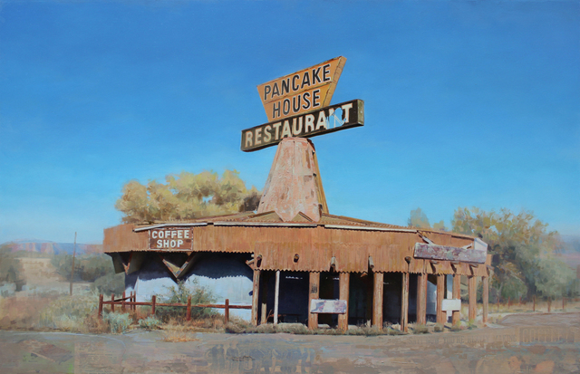 , 'Pancake House,' 2017, Sue Greenwood Fine Art