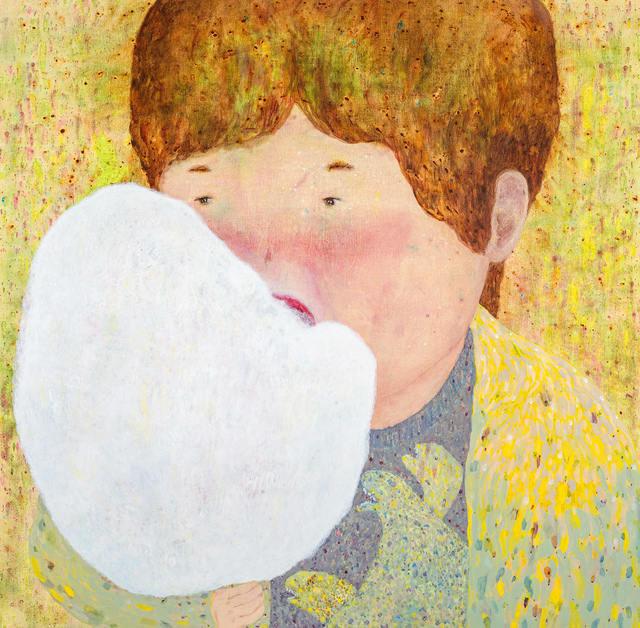 , 'Eating Cotton Candy,' 2017, Liang Gallery