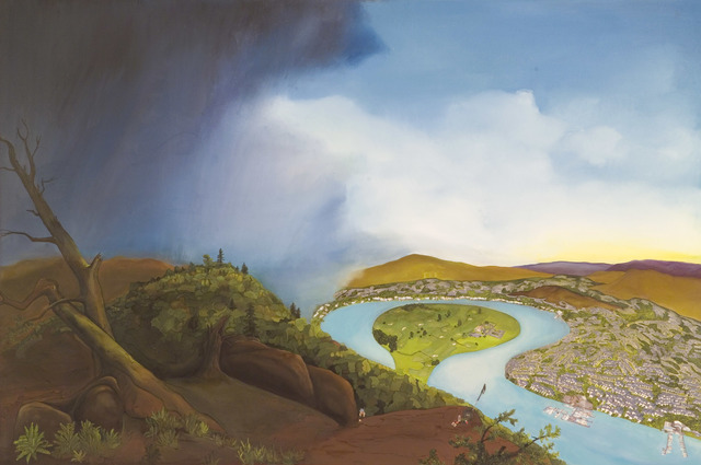 Purdy Eaton, 'The Oxbow', 2008, Nancy Hoffman Gallery