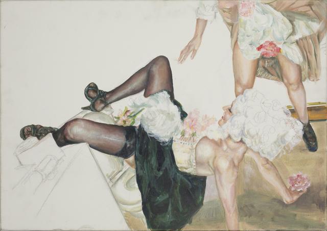 , 'La toilette des dames I,' 2014, RUDOLF BUDJA GALLERY