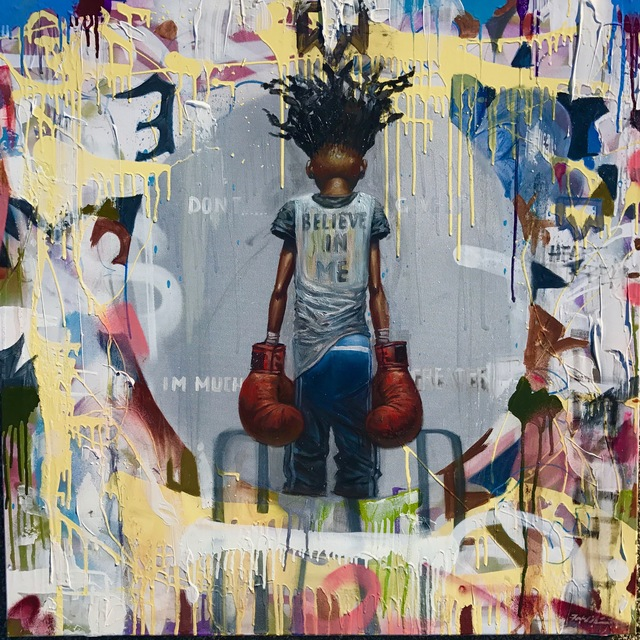 , 'The Champ,' 2017, Richard Beavers Gallery