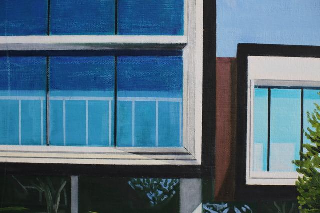 Karen Lynn, ''Shades of Blue' Oil on Canvas Contemporary Painting', 2020, Painting, Oil on Canvas, Ai Bo Gallery