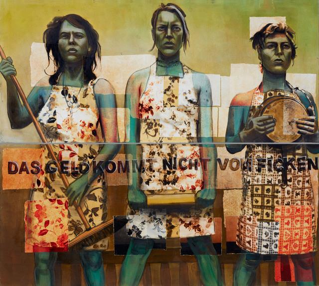 """, '""""Das Geld"""",' 2018, Novado Gallery"""