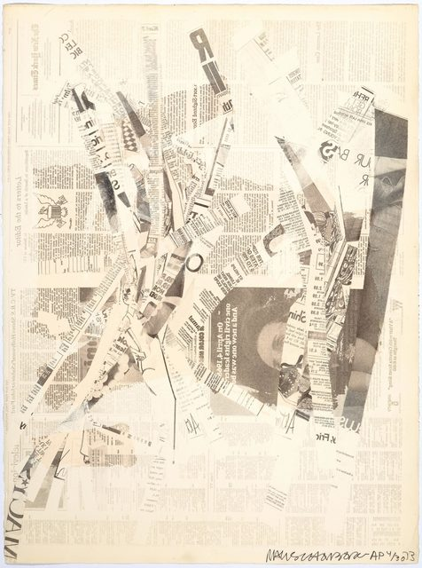 Robert Rauschenberg, 'Hommage à Picasso', 1973, Print, Offset lithograph, Koller Auctions