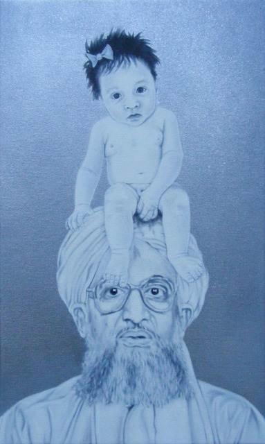 , 'Sally Sue and Ayman al-Zawahiri have a Poo-Poo Party,' 2014, Dennis Dawson