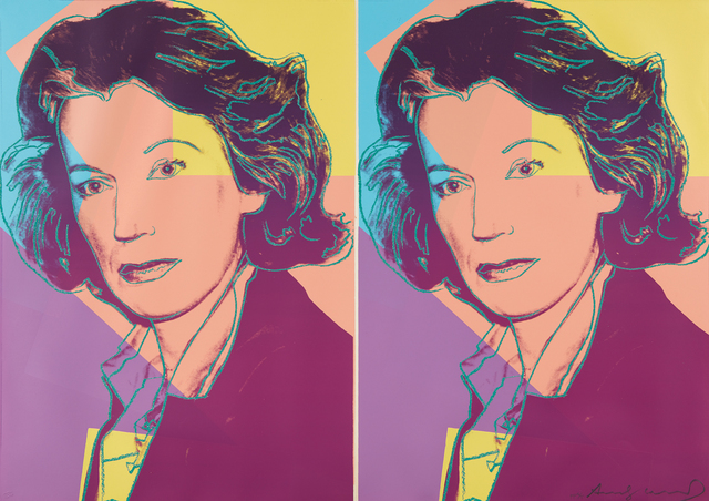 Andy Warhol, 'Mildred Scheel', 1980, Print, Screenprint in colors with diamond dust, on Arches 88 paper, the full sheet, Phillips