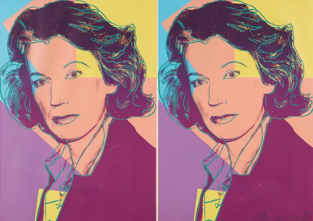 Andy Warhol, 'Mildred Scheel', 1980, Phillips
