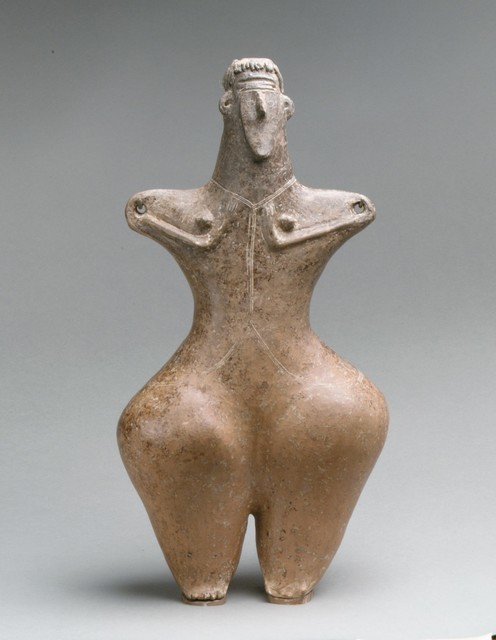 Unknown Iranian, 'Statuette of a female', ca. early 1st millennium B.C., The Metropolitan Museum of Art