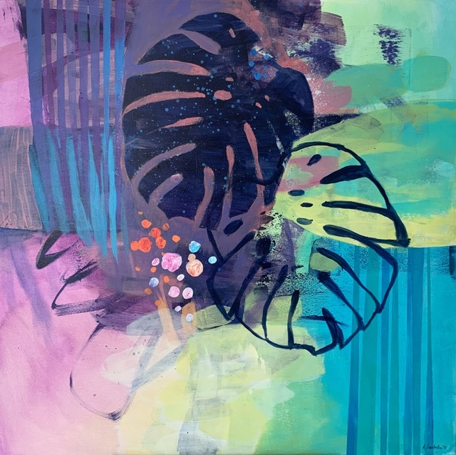 Anna Masiul-Gozdecka, 'Inside - outside', 2021, Painting, Acrylic on canvas, Gallery Katarzyna Napiorkowska   Warsaw & Brussels