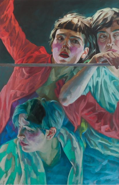 Xenia Hausner, 'Women in trouble', 2018, Painting, Oil on paper on dibond, Lukas Feichtner Gallery