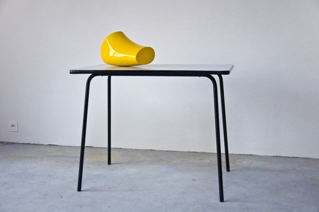 , 'F. element yellow I,' 2018, Eva Steynen.Deviation(s)