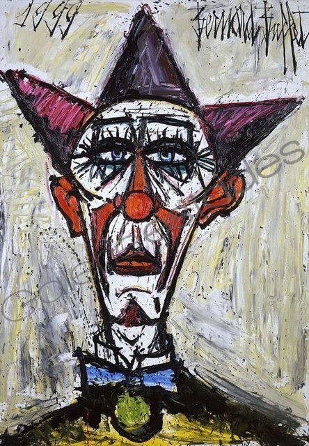 , 'Tête de clown,' 1999, Galerie Estades