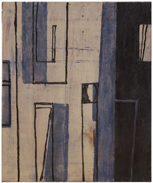 Anke Blaue, 'Composition', 1996, Painting, Oil on canvas, Artur Ramon Art