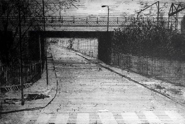 , 'Corner of Ratcliffe Road,' , Mall Galleries
