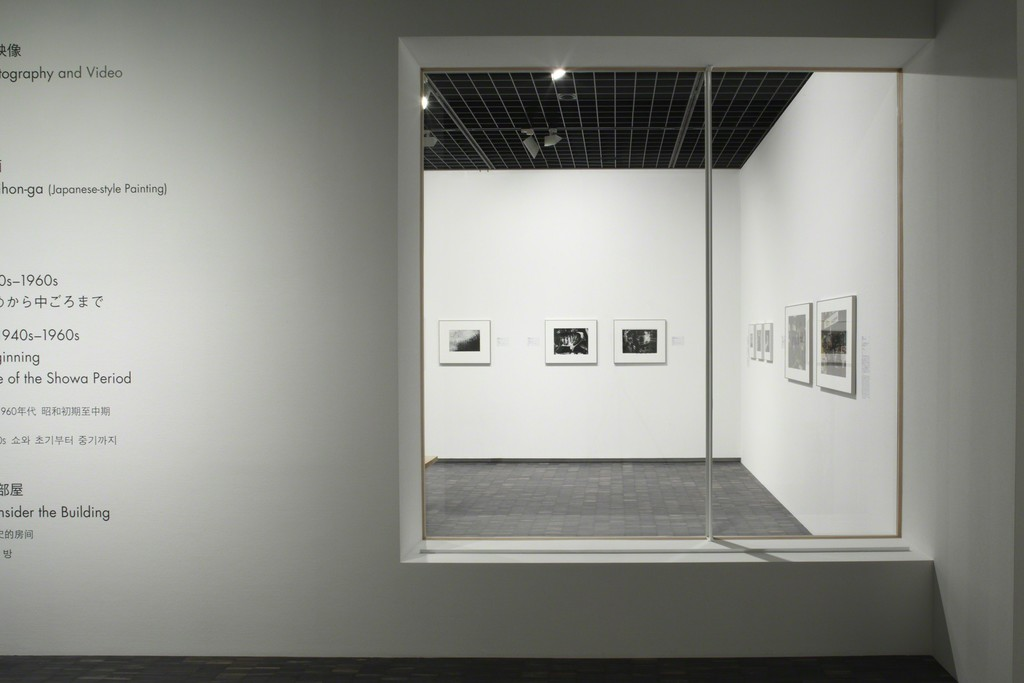 "Installation view of ""Collection Gallery (3rd floor: Photography and Video)"" at The National Museum of Modern Art, Tokyo. Photo: Kioku Keizo"