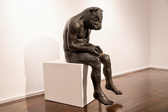 , 'Reading Minotaur (giant),' 2018, Hugo Galerie