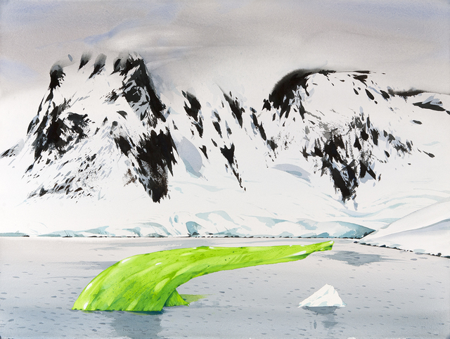, 'Jade Iceberg in Neumeyer Channel, Antarctica ,' , Dowling Walsh