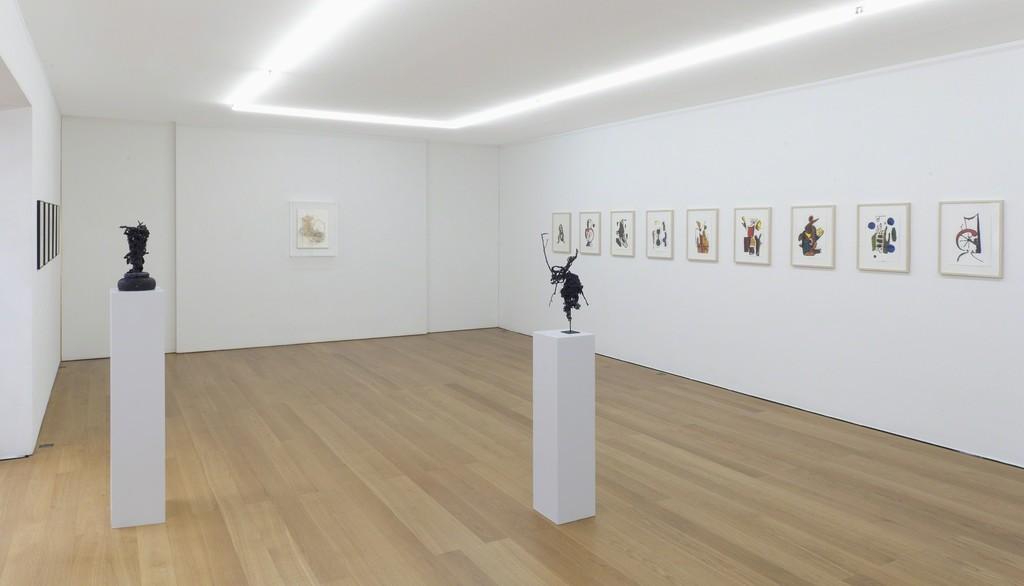 Installation view Rodney Graham at Galerie Rüdiger Schöttle, 2015. Photo: Wilfried Petzi.