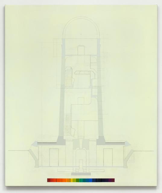 Alison Turnbull, 'Einstein's Tower', 2013, Annely Juda Fine Art