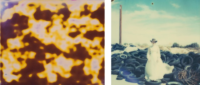 , 'Rodeo Grounds (Till Death do us Part), diptych,' 2010, Instantdreams