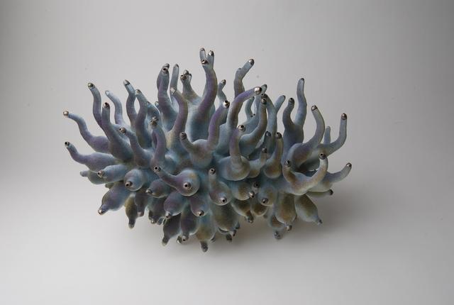 , 'Purple Sinuate Cluster,' 2019, Hostler Burrows