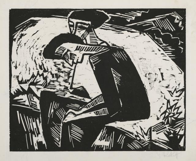 Karl Schmidt-Rottluff, 'The Sisters', 1914, Galerie St. Etienne