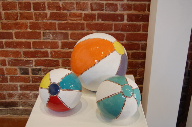 Cindy Wilson, 'Medium and Large Beach Balls', Tim Collom Gallery