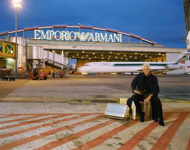, 'Giorgio Armani, Milan, March 1997 ,' 1997, Photo12 Galerie