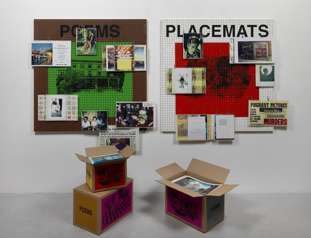 , 'Poems & placemats,' 2008, Simon Lee Gallery