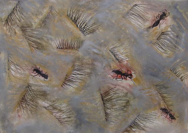 , 'Hormiguero,' 2019, Galería Quetzalli