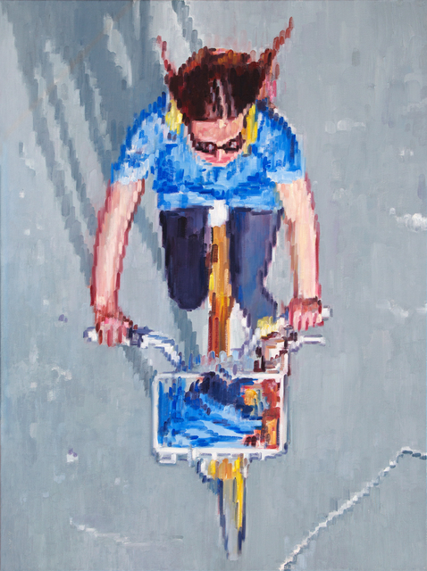 , 'Bicycling on a Summer's Day,' 2017, ViVO Contemporary