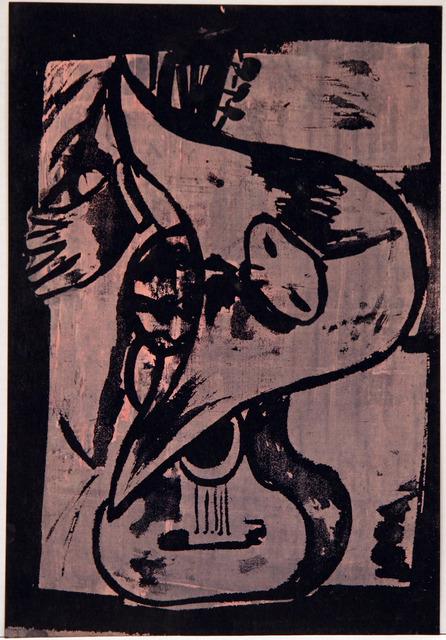 , 'Pink Guitar,' , David Richard Gallery
