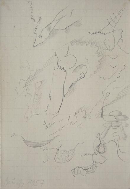 , 'Untitled,' 1957, Galerie Schwarzer