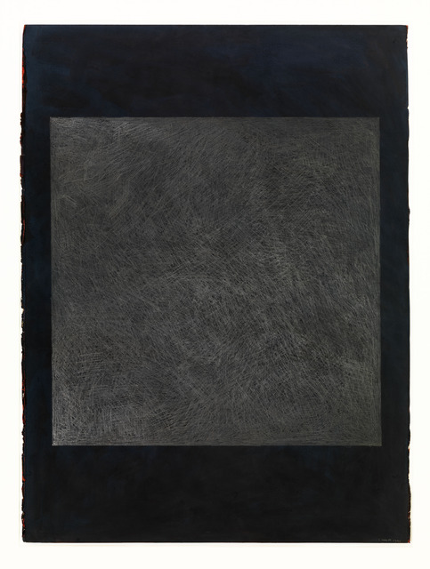 , 'Color Gouache with Square with Scribbles,' 1990, Alfonso Artiaco