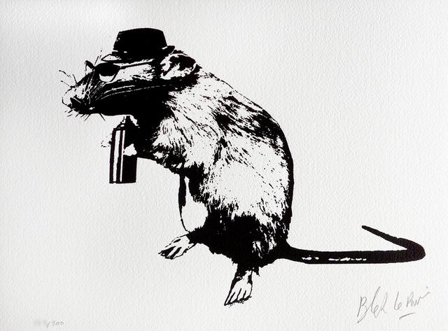 Blek le Rat, 'The Street Artist's Paraphernalia', 2016, PRINTS AND PIECES