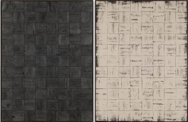 Davide Balula, 'Burnt Painting, Imprint of the Burnt Painting (Ember Harbor #2),' 2013, Rodolphe Janssen