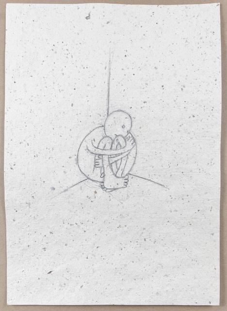 , 'Study for Man in Corner,' 2017, Marlborough Gallery
