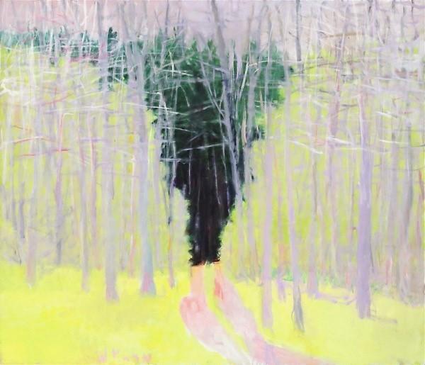 , 'Path Through Undergrowth,' 2002, Cavalier Galleries